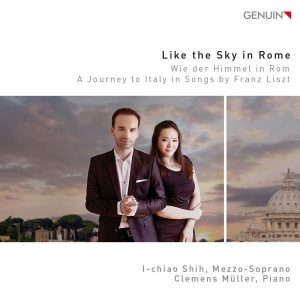 I-Chiao Shih_Like the sky in Rome_front